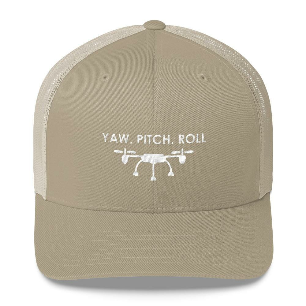 Yaw. Pitch. Roll Hat