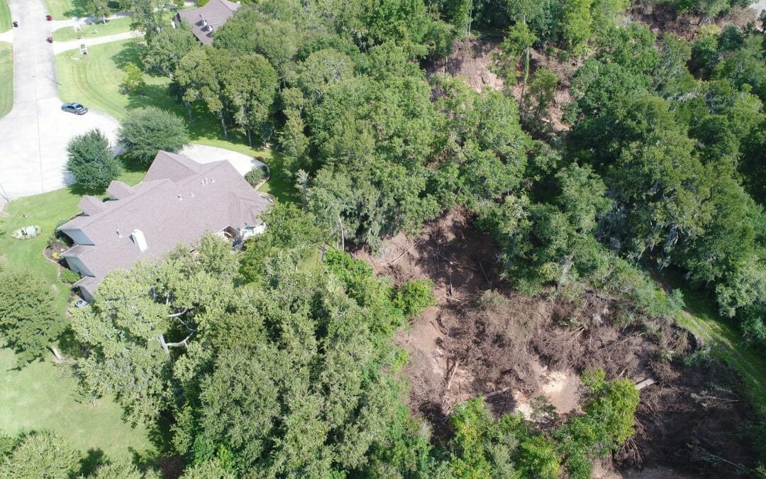 Aerial Photography Drone Helps Houston Homeowner With Flood Insurance