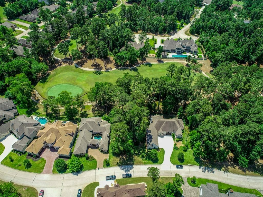 Residential Real Estate - (vacant lot near Bentwater Country Club in Montgomery, TX)