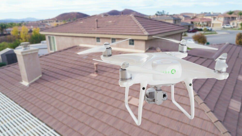 An Eye in the Sky:  The Benefits of Drones for a Home Inspection