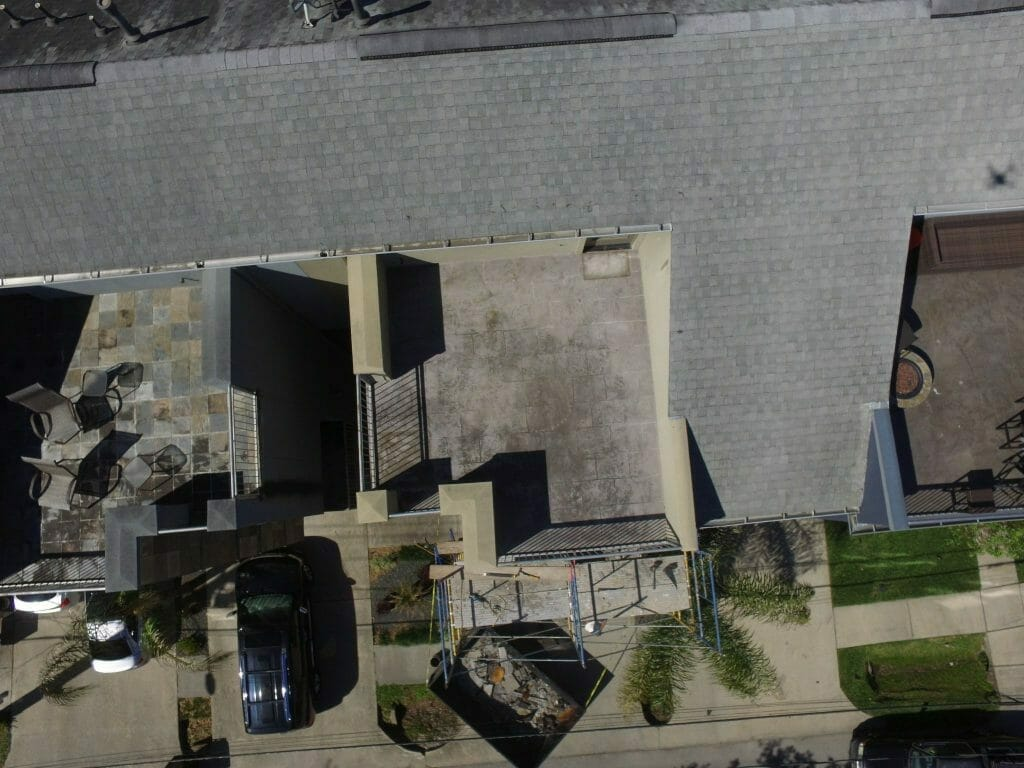 Drone Condo Restoration Photography