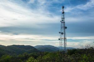 telecom drone aerial imagery