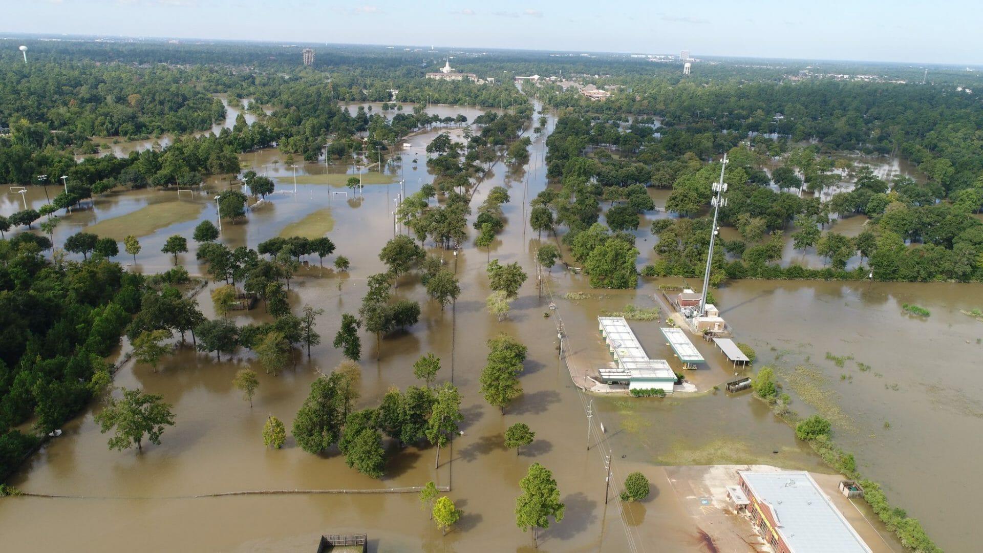 Houston Flooding Drone Coverage