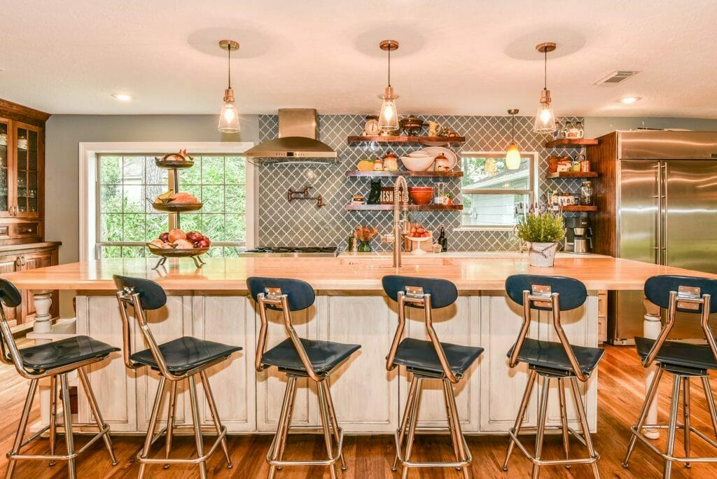 Houston Inner Loop Home - Interiors Shot of Kitchen