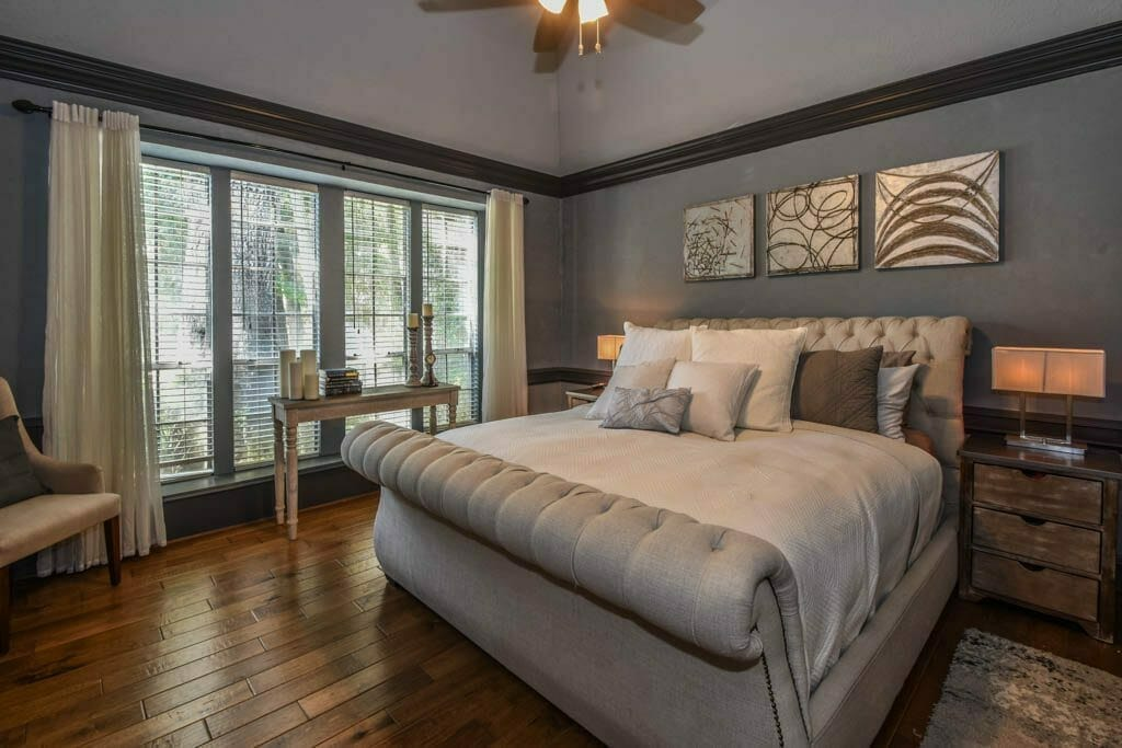 Cypress, TX Home - Interiors Shot of Master Bedroom